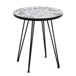 Kamienny stolik olbraht czarny