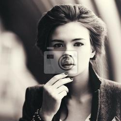 Obraz młoda kobieta, portret