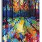 Mile end woods - obraz na płótnie