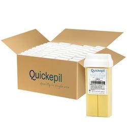 Quickepil 50 szt. wosk do depilacji rolka lemon 110g