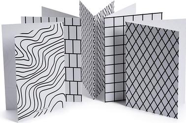 Kartka z kopertą Pattern 6 szt.