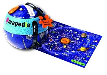 Puzzle mapedia - mapa kosmosu 100 el.