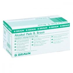 Waciki do odkażania nasączone alkoholem - braun