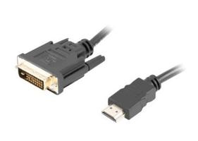Lanberg kabel hdmim-dvi-dm dual link 3 m czarny