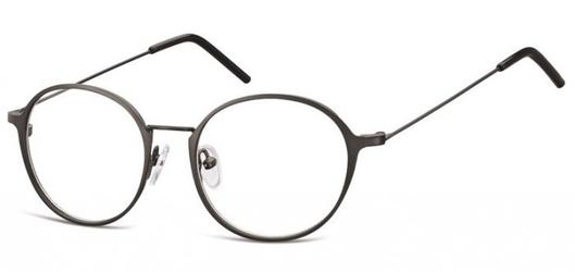 Lenonki zerowki oprawki okulary korekcyjne 971 grafitowe