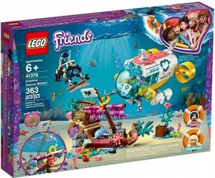Klocki lego friends 41378 na ratunek delfinom