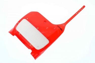 Acerbis nowy plastron honda cr czerwony 02
