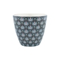 Kubek latte victoria dark grey green gate