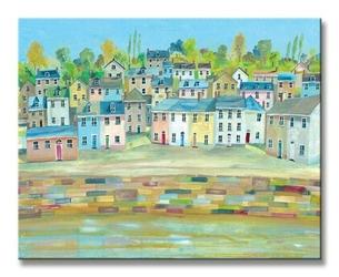 Harbour colours 2 - obraz na płótnie