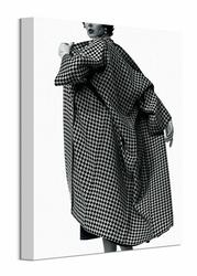 Modny płaszcz - obraz na płótnie