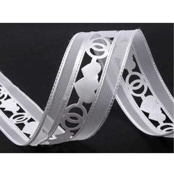 Ażurowa wstążka satynowa 40 mm - ślub