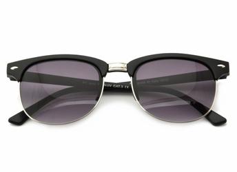 Półramki okulary  czarne 2833