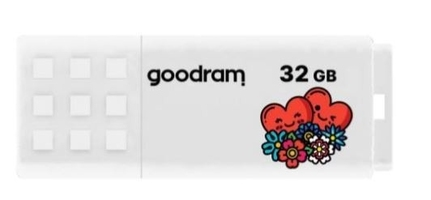Goodram pendrive ume2 32gb usb 2.0 biały walentynki