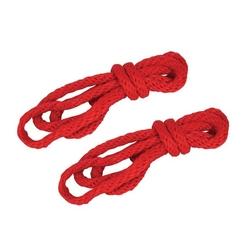 Sexshop - sm silky robe kit – jedwabne sznury do wiązania czerwone - online