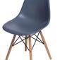 Krzesło p016w pp inspirowane dsw szare ciemne - szary ciemny