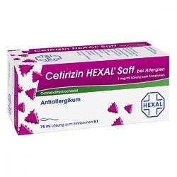 Cetirizin hexal syrop przeciwalergiczny