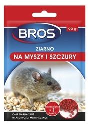 Bros, ziarno na myszy  i szczury, 90g