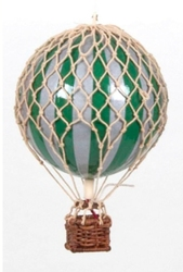 Authentic models balon royal aero, srebrno- zielony ap163sg