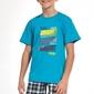 Piżama chłopięca cornette young boy 79081 noise 134-164