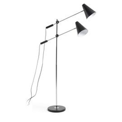 Lampa podłogowa lilith 90x90 kolor czarny