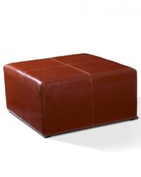 Tapicerowany kwadratowy puf kubik iv