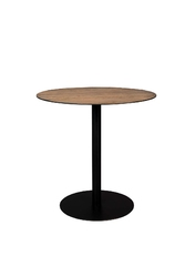 Dutchbone bistro table braza round brown 2100089
