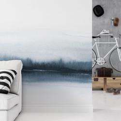 Tapeta na ścianę - coming wave , rodzaj - tapeta flizelinowa laminowana