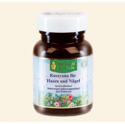 Włosy  paznokcie rasayana 60 tabletek - suplement diety, maharishi ayurveda