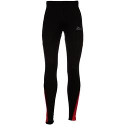 Spodnie rogeli dunbar czarno-czerwone