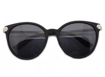 Damskie okulary polaryzacyjne czarne pol-561a