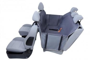 Mata samochodowa dla psa - kardimata anti slip z bokami z zamkiem średnia 133x157cm - oliwkowy