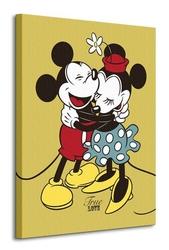 Mickey and minnie mouse - obraz na płótnie