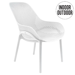 Krzesło malibu białe - biały
