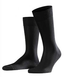 Bezuciskowe skarpety bawełniane falke sensitive malaga kolor czarny rozmiar 39-42