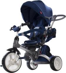 Sun baby little tiger niebieski rowerek trójkołowy 6w1 + prezent 3d