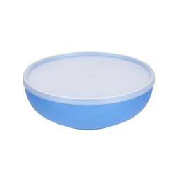 Miska plastikowa z pokrywą do przechowywania sagad 1,85 l niebieska
