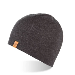 Zimowa czapka męsk ocieplana mulina cz1-dgr