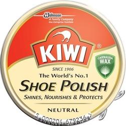 Kiwi, bezbarwna pasta do butów w puszce, 50ml