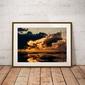 Nusa penida sunrise - plakat premium wymiar do wyboru: 80x60 cm