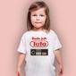 Będę jak tata t-shirt dziecięcy biały 146