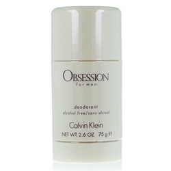 Calvin klein obsession for men perfumy męskie - dezodorant w sztyfcie 75ml