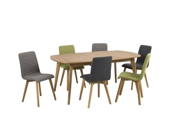 Krzesło amosa zielone  skandynawskie