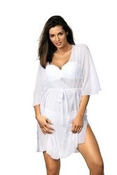 Sukienka plażowa marko judy bianco m-444 1