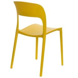 Krzesło flexi żółte - żółty