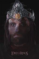 Władca pierścieni - powrót króla - plakat premium wymiar do wyboru: 50x70 cm