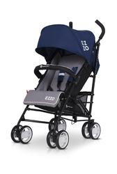 Euro cart ezzo 2019 denim wózek parasolka + folia + ocieplacz