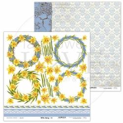 Papier do scrapbookingu Yellow Spring 30,5x30,5 cm - 06 - 06
