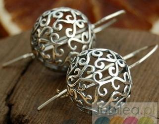 Eco - srebrne kolczyki