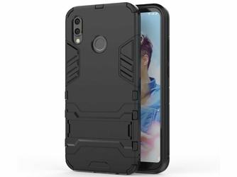 Etui Alogy Stand Armor do Huawei P20 Lite czarne + szkło