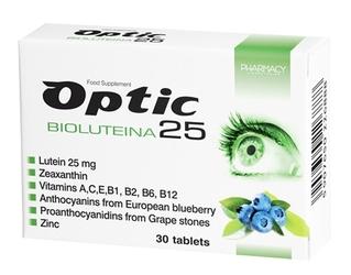 Optic bioluteina 25 x 30 tabletek